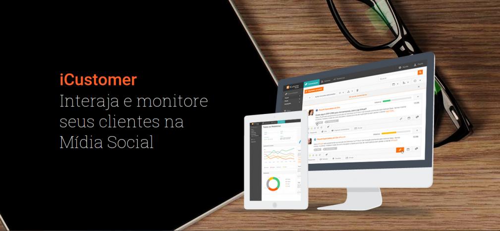 Interaja e monitore seus clientes na Mídia Social